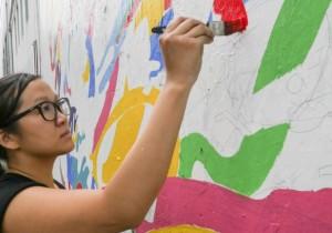 Mimi Leung - Tinder Social Mural